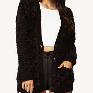 🦄🦄🦄Forever 21: Fuzzy Knit Cardigan